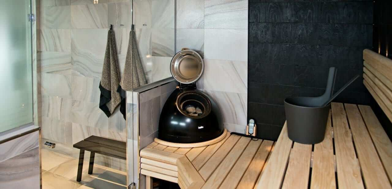 Sauna's, stoom-oplossingen en wellness producten