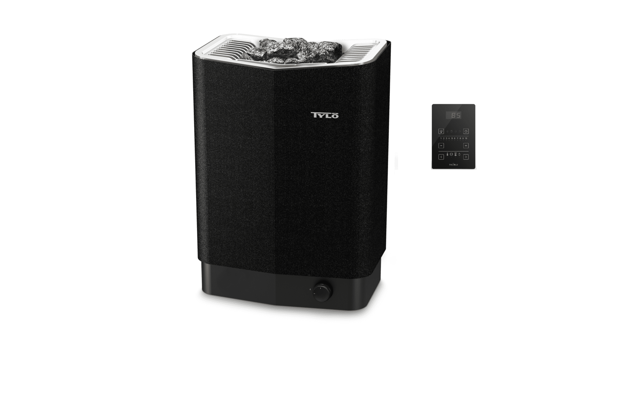 Tylo-Sense-Pure-black-heater